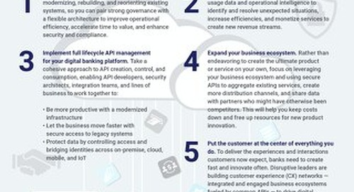 5 Ways to Modernize Your Banking Infrastructure with APIs