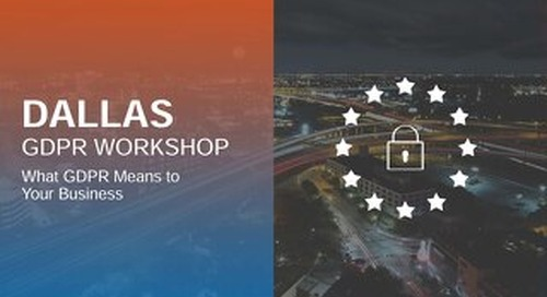 Dallas GDPR Workshop Deck