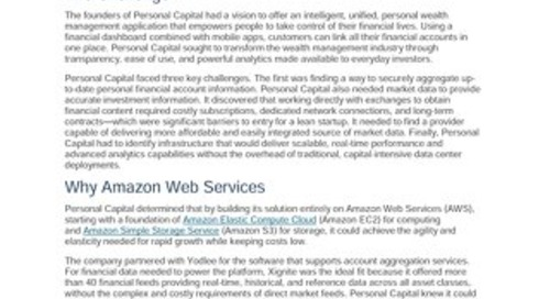 AWS Partner Story - Personal Capital