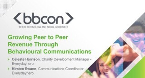 Growing Peer to Peer Revenue Through Behavioural Communications - Celeste Harrison & Kirsten Swann