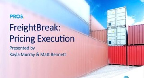[Slides] FreightBreak: Pricing Execution