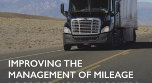 Leading Seals and Plastics Company Improves Management of Mileage Logs