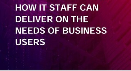 The Accidental Chief Data Officer: How IT Staff Can Deliver on Data Needs of Business Users