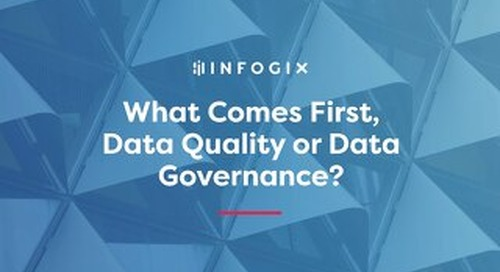 What Comes First, Data Quality or Data Governance?