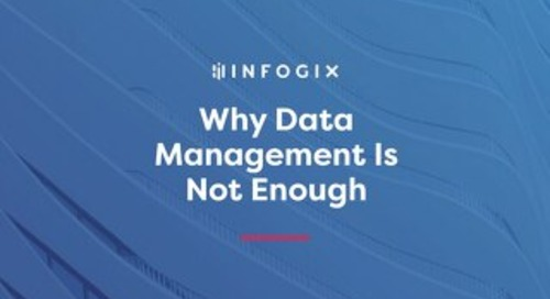 Why Data Management Is Not Enough