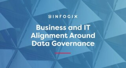 Business and IT Alignment Around Data Governance