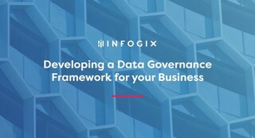 Developing a Data Governance Framework for your Business
