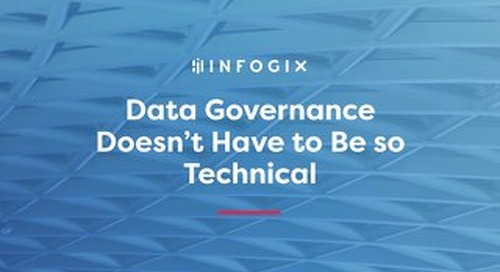 Data Governance Doesn't Have to Be so Technical