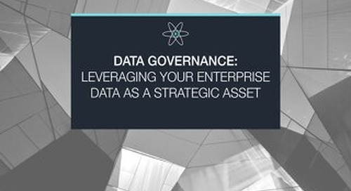Leveraging your Enterprise Data as a Strategic Asset