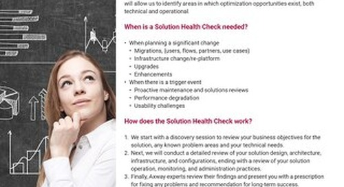 Solution Health Check Services