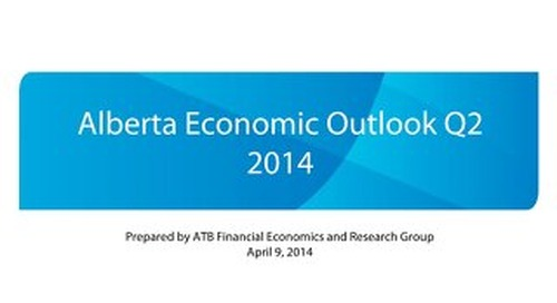 Alberta Economic Outlook - Q2 2014
