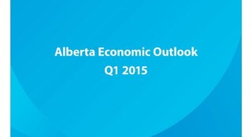 Alberta Economic Outlook - Q1 2015