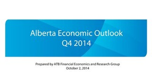 Alberta Economic Outlook - Q4 2014