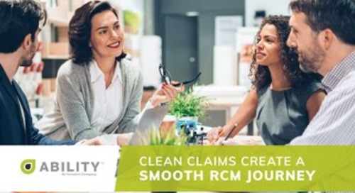 Clean Claims Create a Smooth RCM Journey