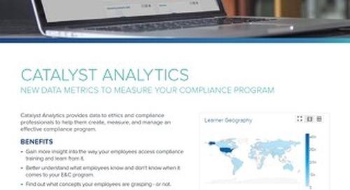LRN's Catalyst Analytics