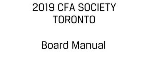 2019 Board Manual_20181003