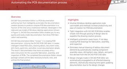 OrCAD Documentation Editor