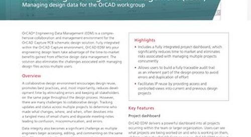 OrCAD Engineering Data Management