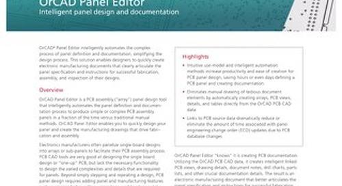 OrCAD Panel Editor