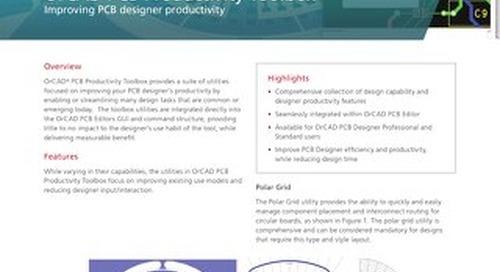 OrCAD PCB Productivity Toolbox