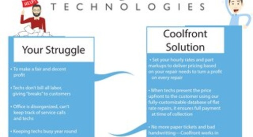 Coolfront Fact Sheet - AllContactorMarketing
