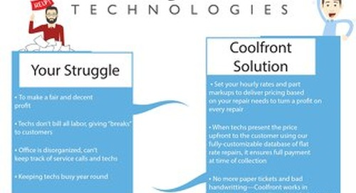 Coolfront Fact Sheet - MA Supply