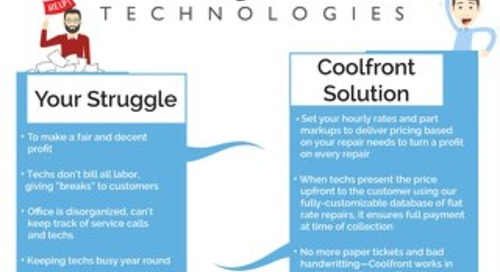 Coolfront Fact Sheet - Trane
