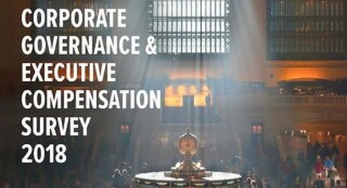 2018 Corporate Governance & Execution Compensation Survey