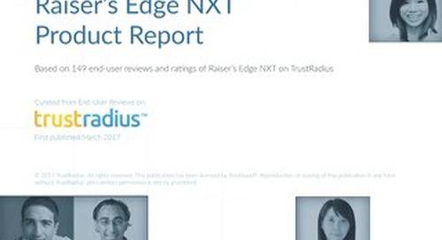 Raiser's Edge NXT™ Product Report