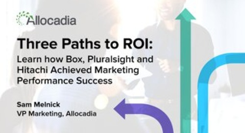 Three Paths to ROI Presentation Slides