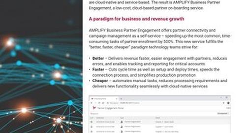 AMPLIFY™ Business Partner Engagement