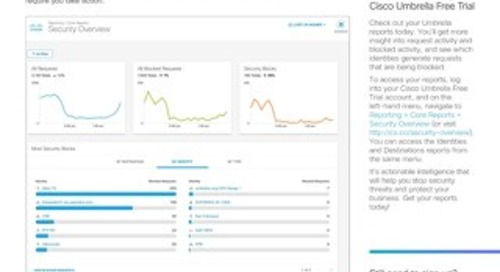 Cisco Umbrella: Reporting You Can Count On