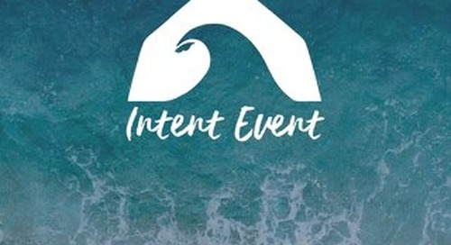 Bombora - Intent Event - Agenda Booklet