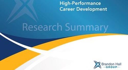 5 Essentials for High-Performance Career Development
