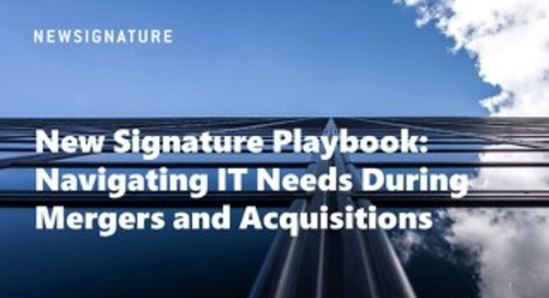 Mergers & Acquisition Playbook