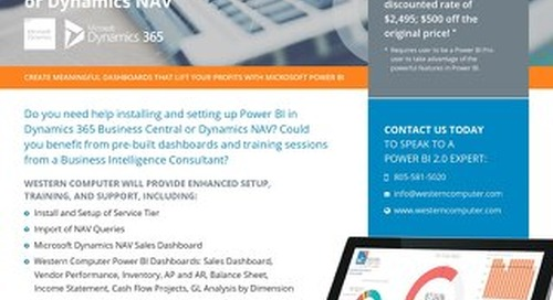 Power BI Bundle for Dynamics NAV & D365 Business Central