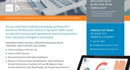 Power BI Bundle for Dynamics NAV & D365 Business Central
