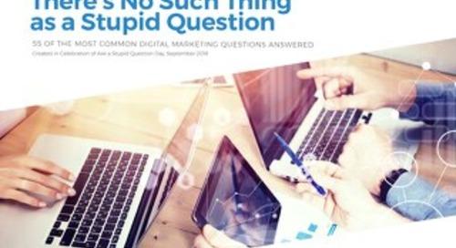 There Is No Such Thing as a Stupid Question