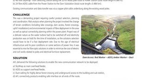 Hydro Power Plant Fibre Optic Solution