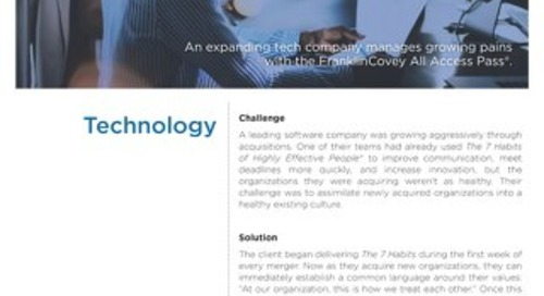 AAP Case Study - Technology