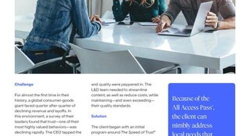 AAP Case Study Consumer Goods