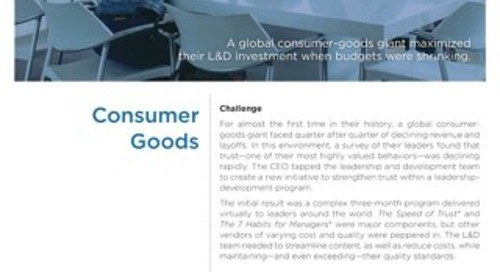 AAP Case Study Consumer Goods
