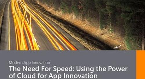 Modern App Innovation CBR 2018