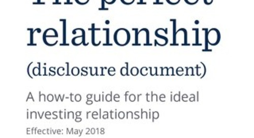 Relationship Disclosure Document