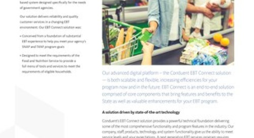 Conduent® EBT Connect Solution