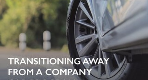 Tire and Auto Service Company Transitions Away From a Company Car Program