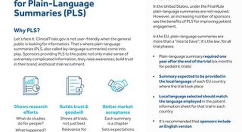 TrialScope Plain-Language Summaries