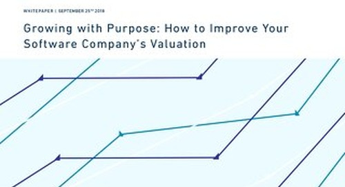 How to Improve Your Software Company's Valuation