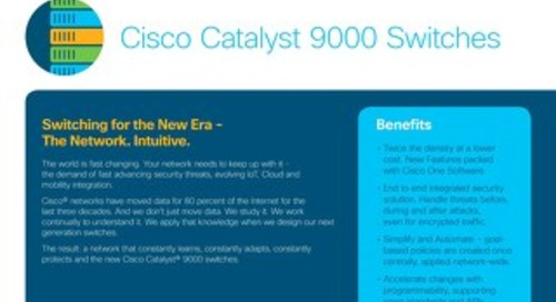 Catalyst 9000 At-A-Glance