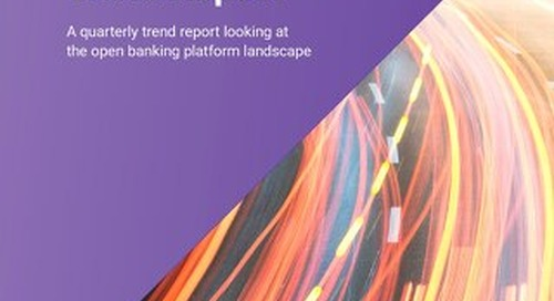 Banking API Trend Report July 2018